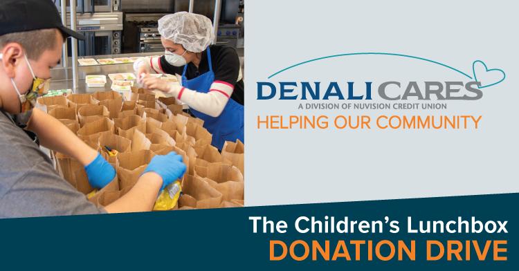 Denali Cares Children's Lunchbox Drive