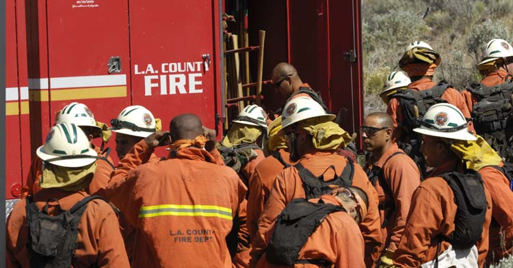 L.A. Fire Fighters
