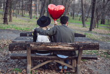 valentines day in the park