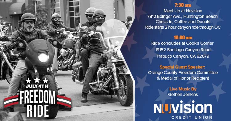 The Nuvision 4th of July Freedom Ride