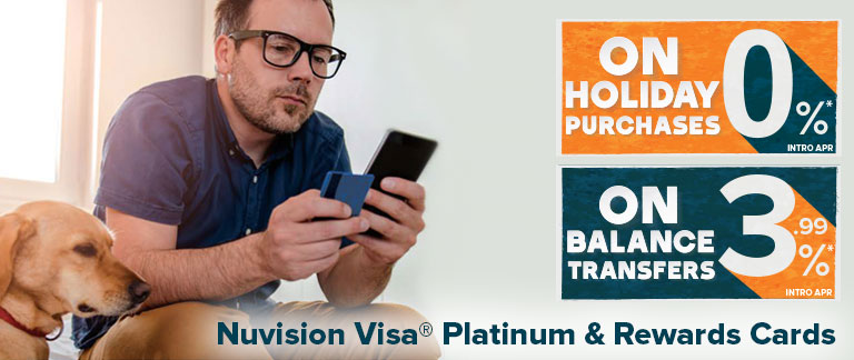 Holiday Visa Credit Card Offer