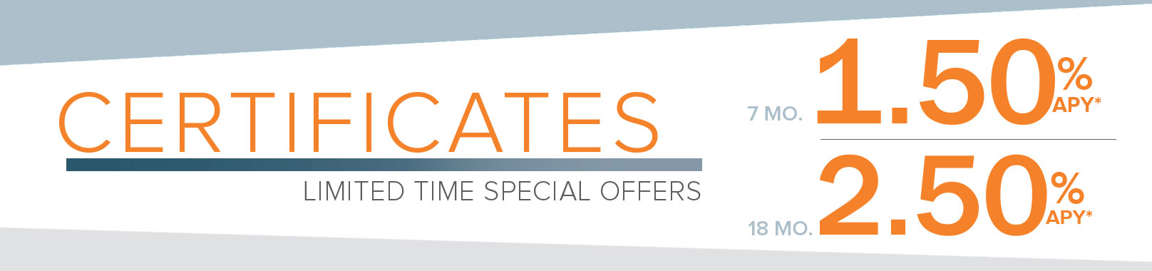 Special Offers on Certificates